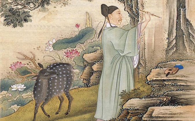 From Album of the Yongzheng Emperor in Costumes, by anonymous court artists, Yongzheng period (1723—35). (Commons Wikimedia)