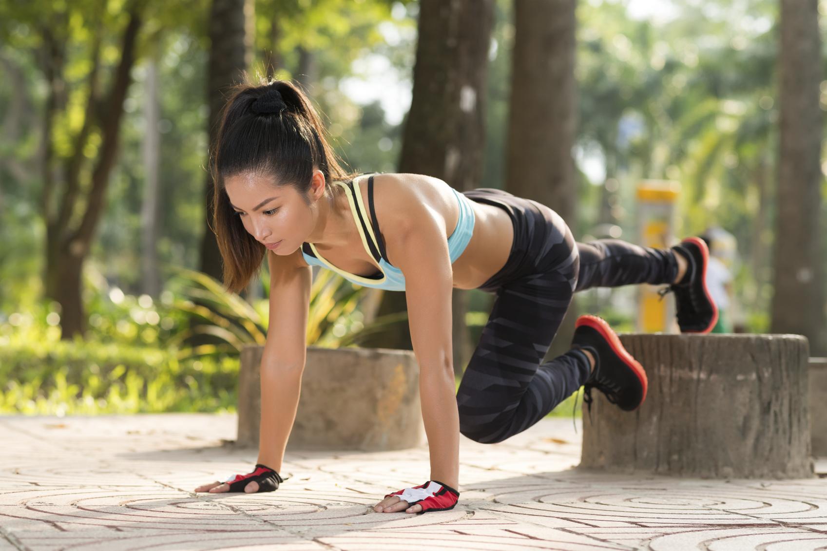 Calorie-Busting Leg Matrix