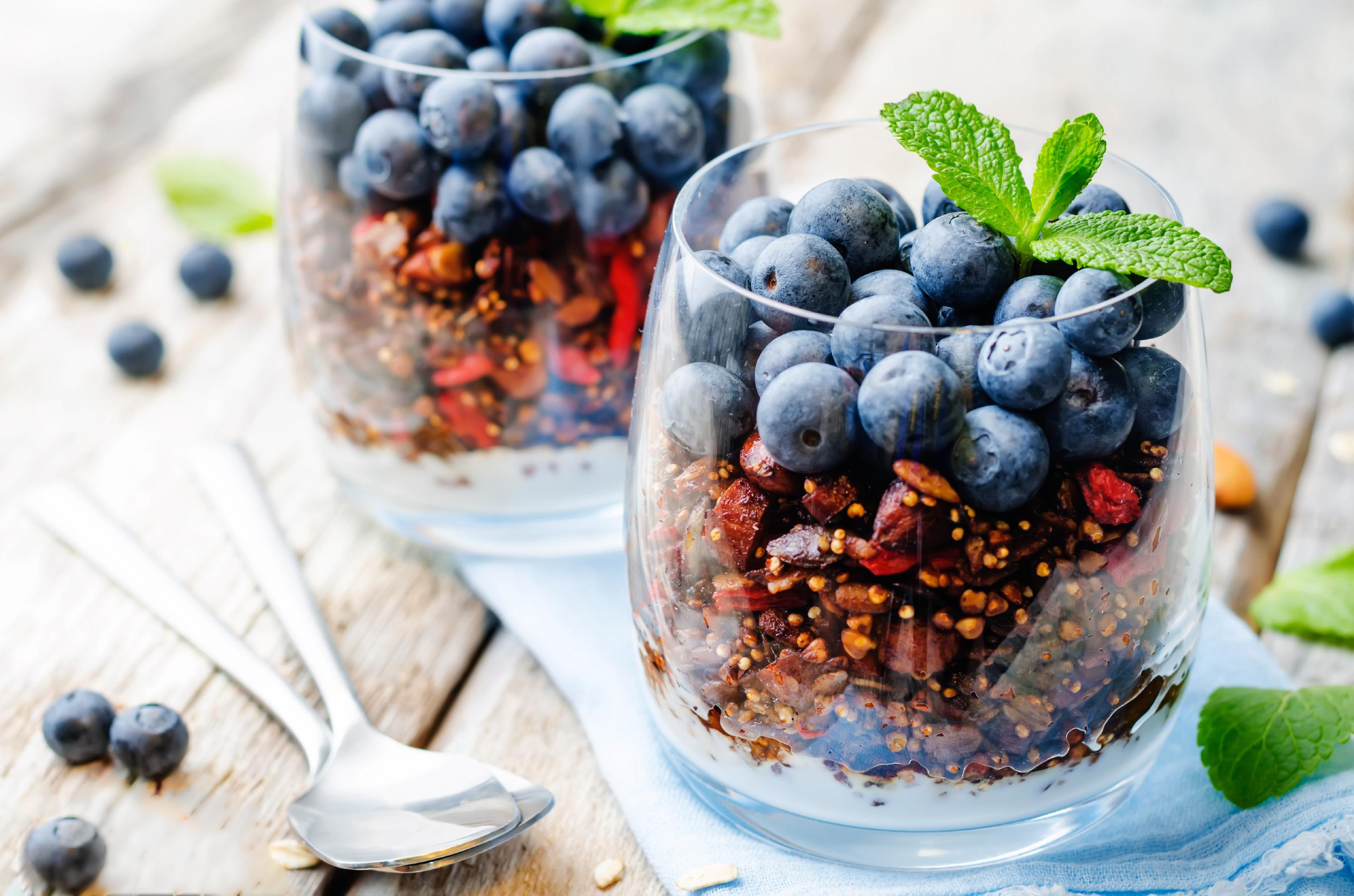 Healthy Homemade Granola Parfait