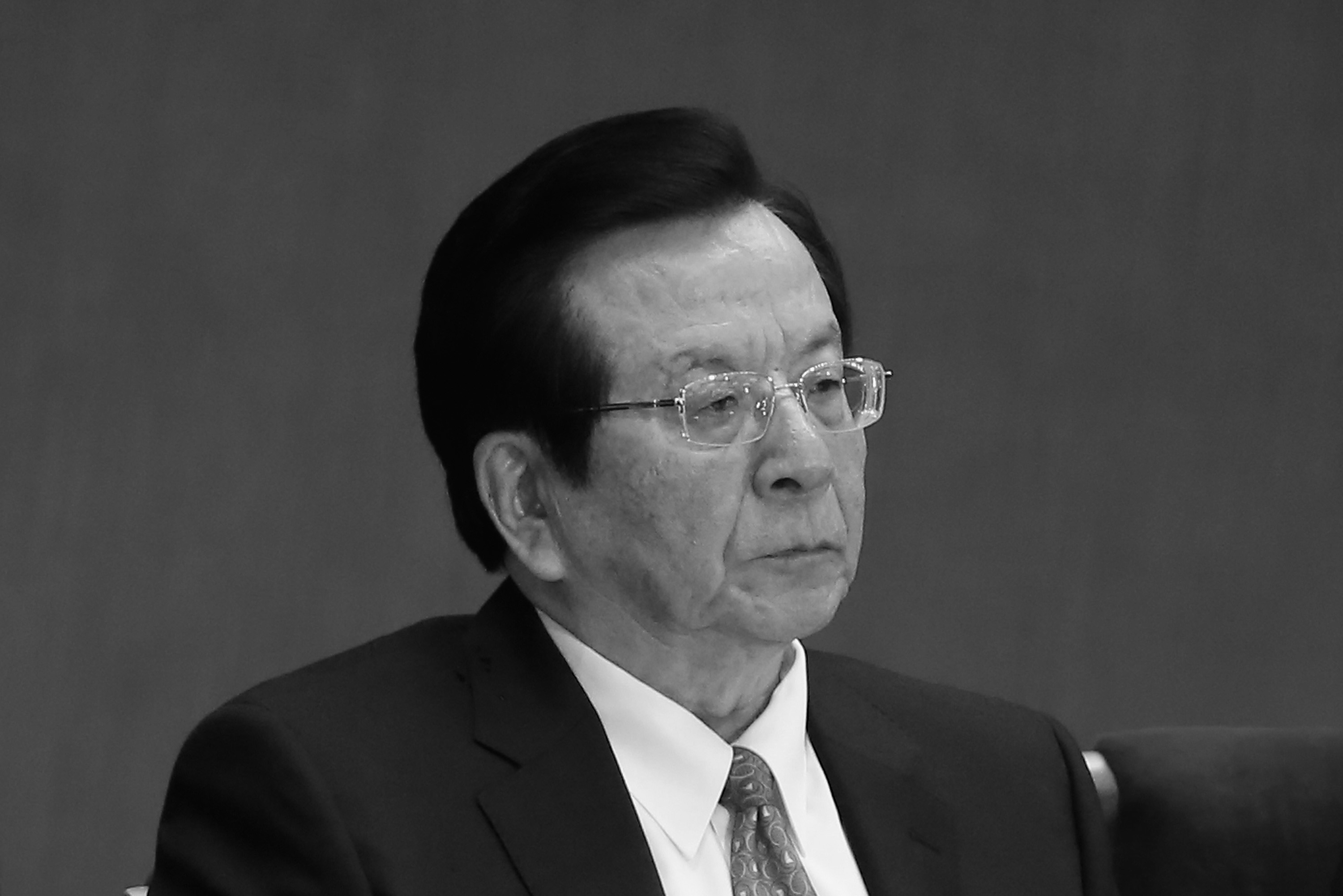 Former Chinese Vice President Zeng Qinghong attends the opening session of the 18th Communist Party Congress held at the Great Hall of the People in Beijing, China on Nov. 8, 2012. (Feng Li/Getty Images)
