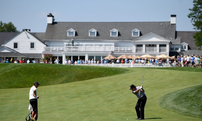 Phil Mickelson will be trying to solve Plainfield Country Club this week. (Ross Kinnaird/Getty Images)