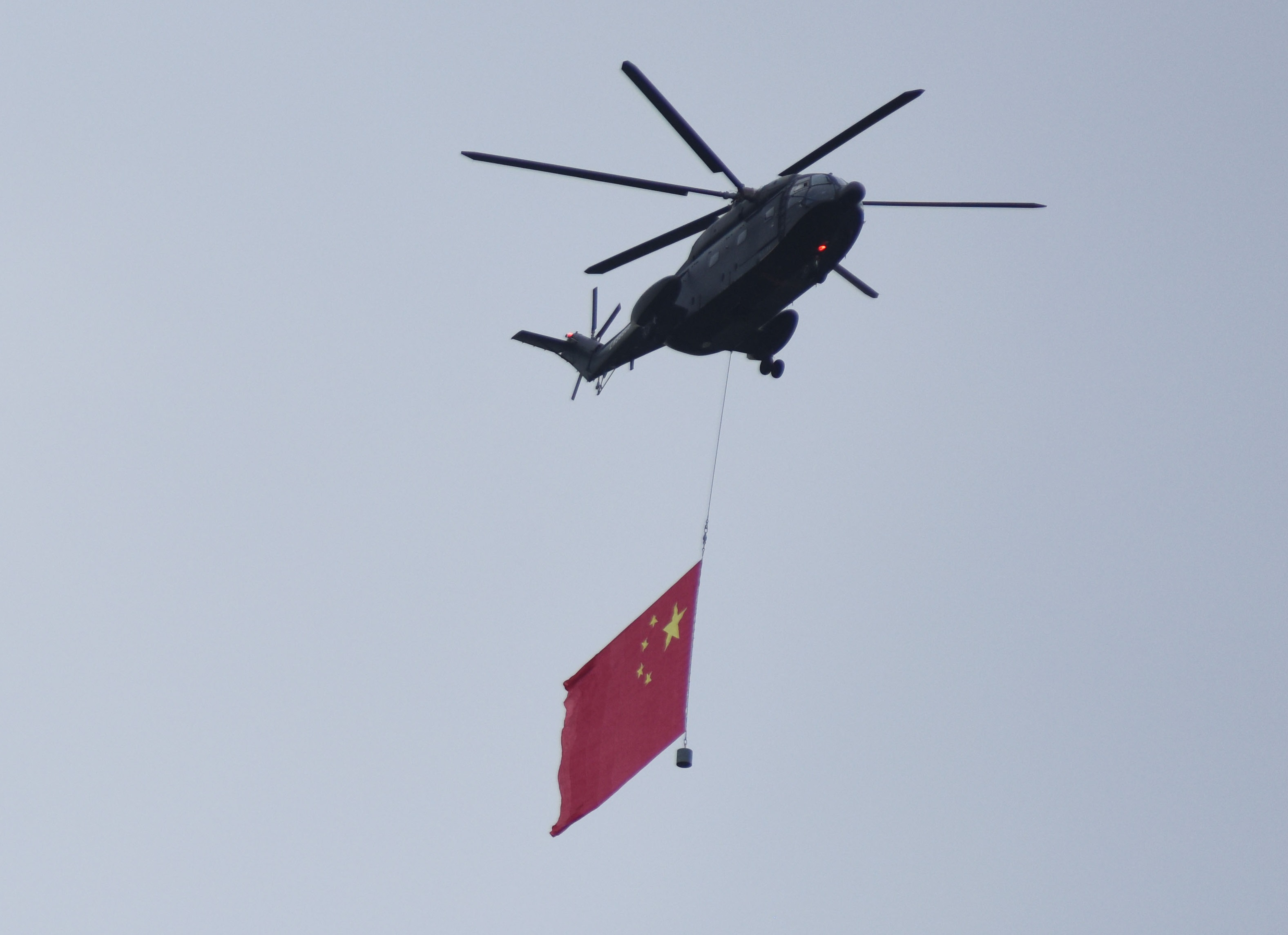 Military Exercises on Tiananmen Meant to Show Party Leader's Control