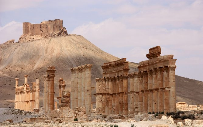 The ancient city of Palmyra. (Ulrich Waack, CC BY-SA)