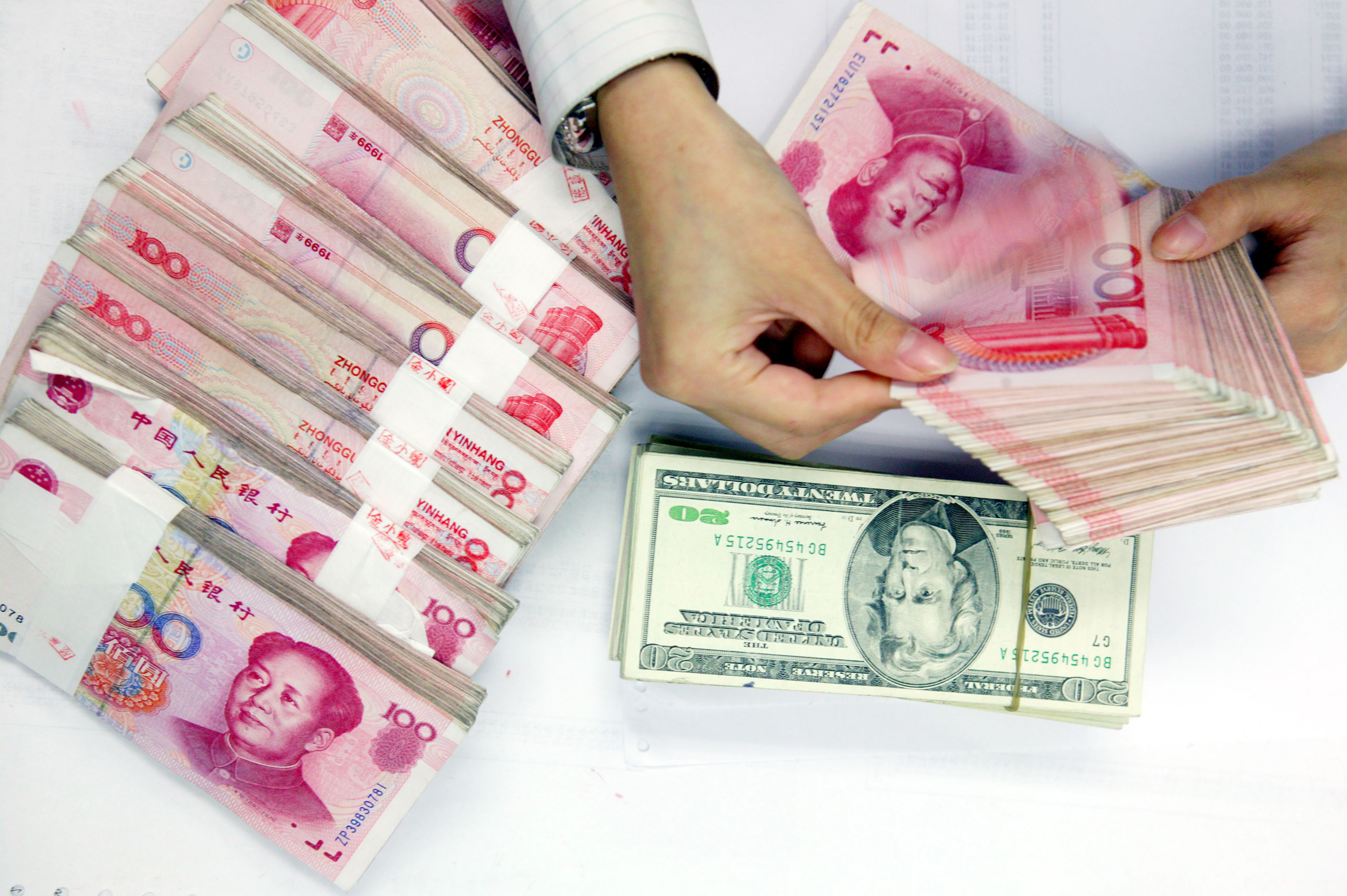China Actually Has Two Currencies—And It's Fiddling Around With Both