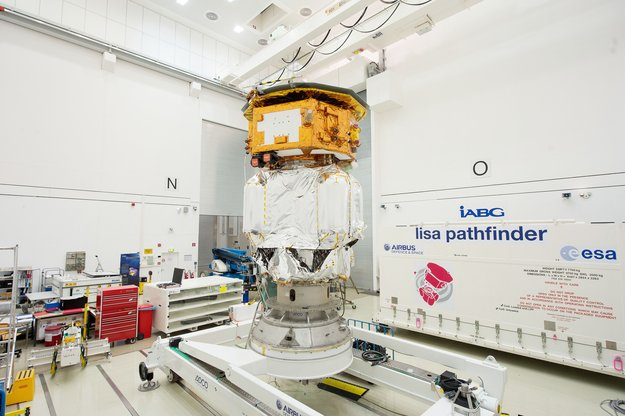 LISA Pathfinder launch composite at IABG's space test centre (European Space Agency)