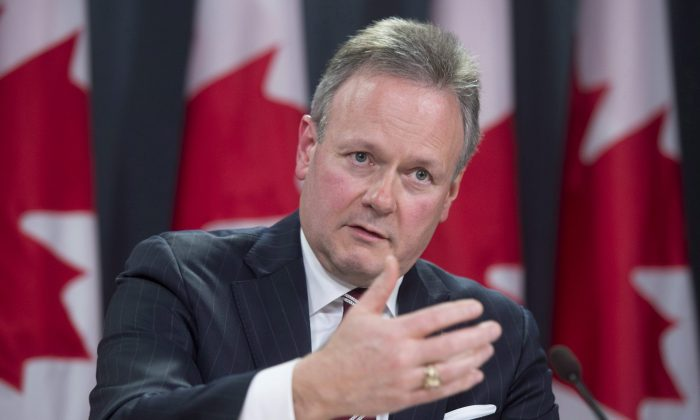 The Bank of Canada kept rates unchanged on Sept. 9 as the economy evolves according to July's projections. Its governor, Stephen Poloz, speaks at a news conference in Ottawa on July 15 after the release of the monetary policy report. (The Canadian Press/Adrian Wyld)