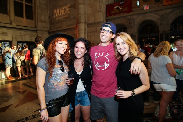 Brooklyn Pour Craft Beer Festival 2014. (Laura June Kirsch)