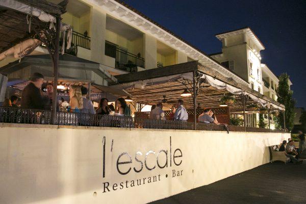 L'Escale restaurant and bar. (Samira Bouaou/Epoch Times)