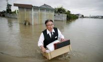 Helicopters Pluck Residents to Safety as Rains Lash Japan