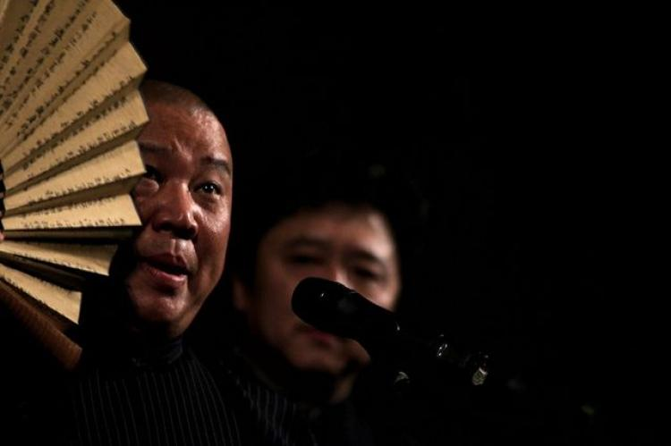 Comedian Guo Degang (far left) (Getty Images)
