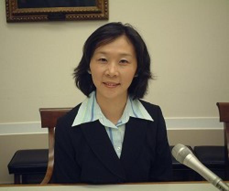 Liao Shuhui, President of Sound of Hope Radio Network's Northeast Asia and Southeast Asia divisions.  (Sound of Hope Radio Network)