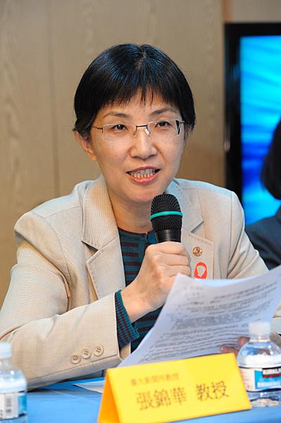 Professor Zhang Jinhua.