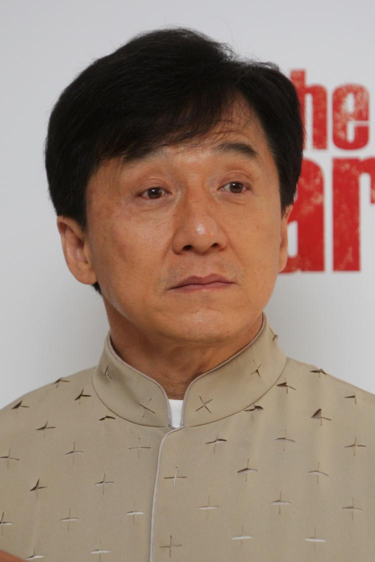 Jackie Chan attends the premiere of 'The Karate Kid' held at The Odeon Leicester Square on July 15, 2010 in London, England. Chan has used his celebrity to promote the Chinese Communist Party (CCP) and has recently suffered a string of bad luck.  (Dave Hogan/Getty Images)