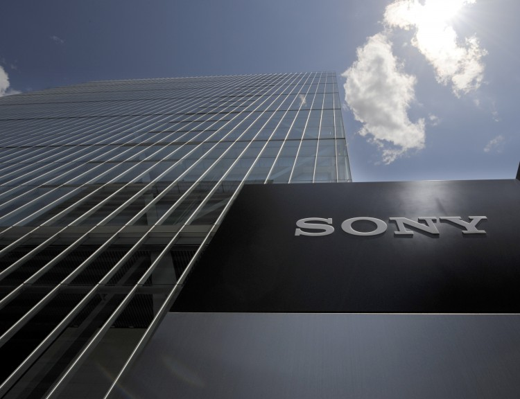 The headquarters of Japanese electronics company Sony in Tokyo on May 13, 2010.  (Toshifumi Kitamura/Getty Images )