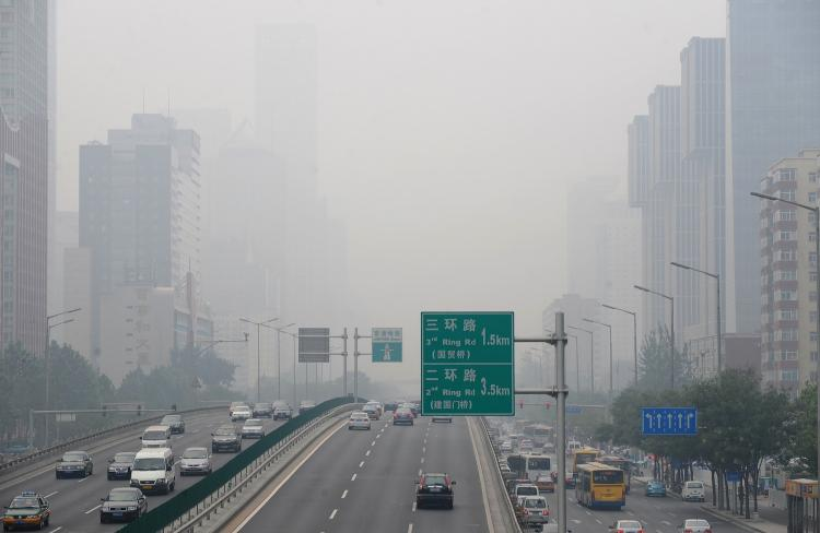 Beijing's Air Pollution Index Reaches Alarming Levels | China ...