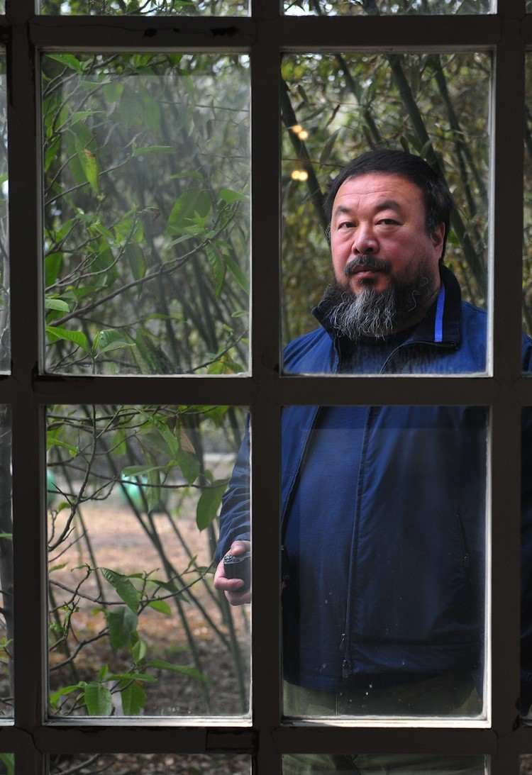 A file photo of Chinese artist Ai Weiwei at his home in an arts district on the outskirts of Beijing. The Chinese regime has ordered Ai to pay over $2 million in what they claim is back taxes and penalties within the next 15 days. (Frederick M. Brown/Getty Images)