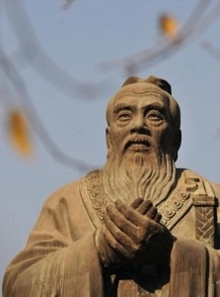 The Chinese regime is using Confucius as a cover for infiltration and propaganda. (Frederic J. Brown/AFP/Getty Images)