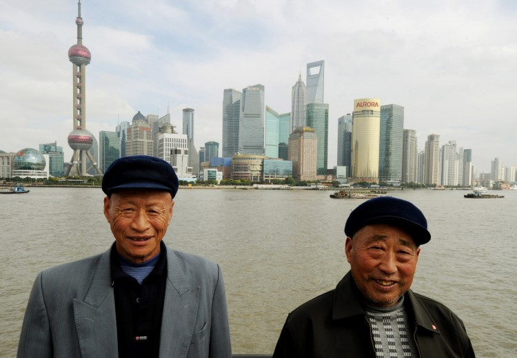 Two Chinese farmers from Henan Province