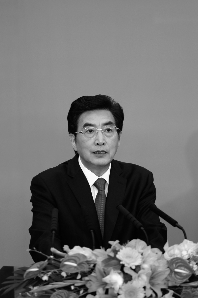 Guo Jinlong at the 11th Beijing Municipal Congress of the Communist Party of China on July 3, 2012 in Beijing, China. (Lintao Zhang/Getty Images)