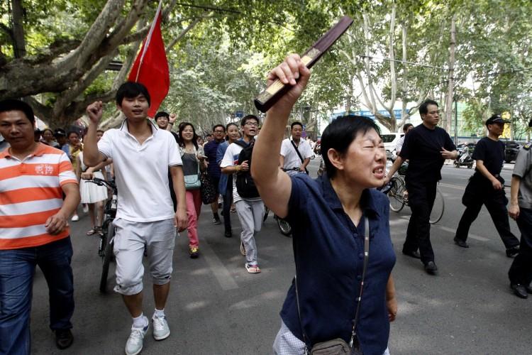 CHINA-JAPAN-DIPLOMACY-DISPUTE-PROTESTS