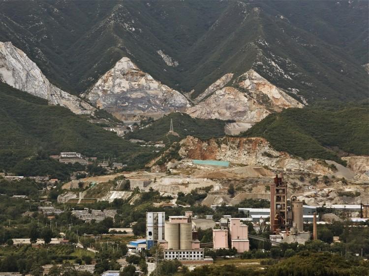 An industrial area, Beijing