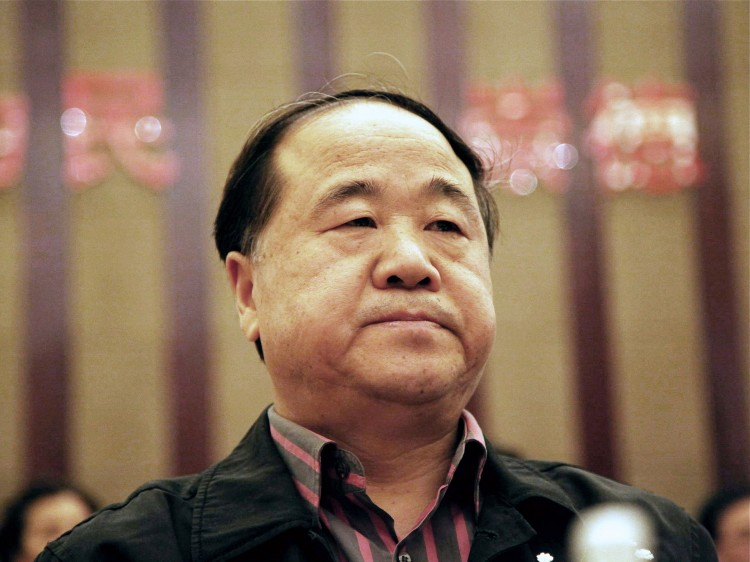 Chinese writer Mo Yan