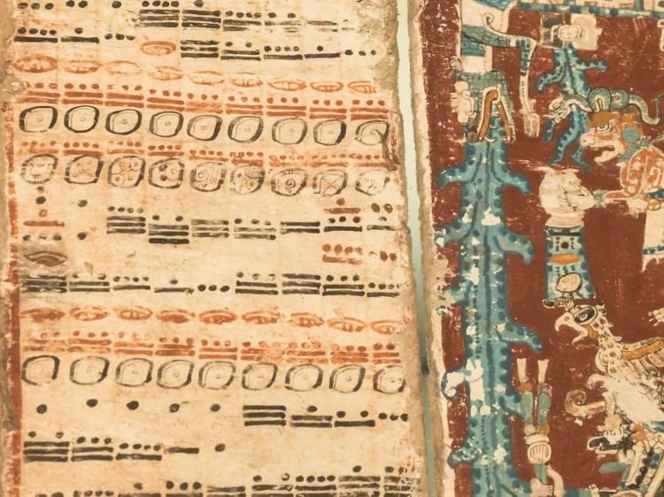 historic Mayan manuscripts