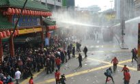 Malaysian Police Fire Water Cannons at Malay Protesters