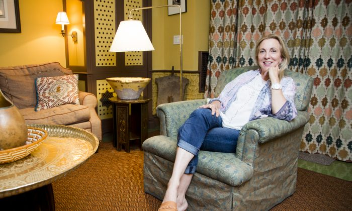 Susan Rockefeller at her home on the Upper East Side in Manhattan, New York, on Sept. 8, 2014. (Samira Bouaou/Epoch Times)