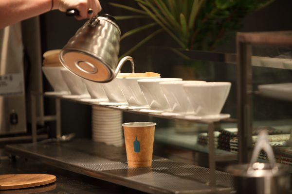 Blue Bottle Coffee. (Courtesy of Clay Mclachlan)