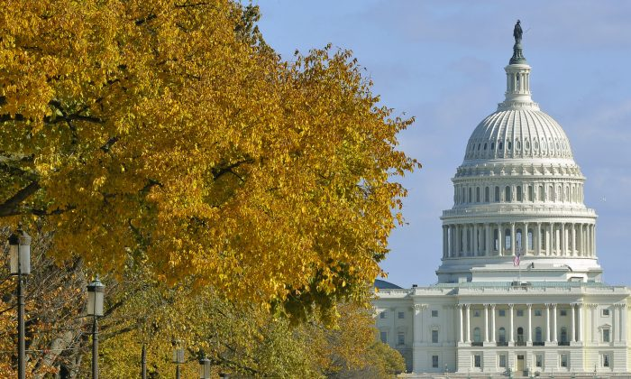 The US Congress in Washington, DC, on Nov. 6, 2011. (Mladen Antonov/AFP/Getty Images)
