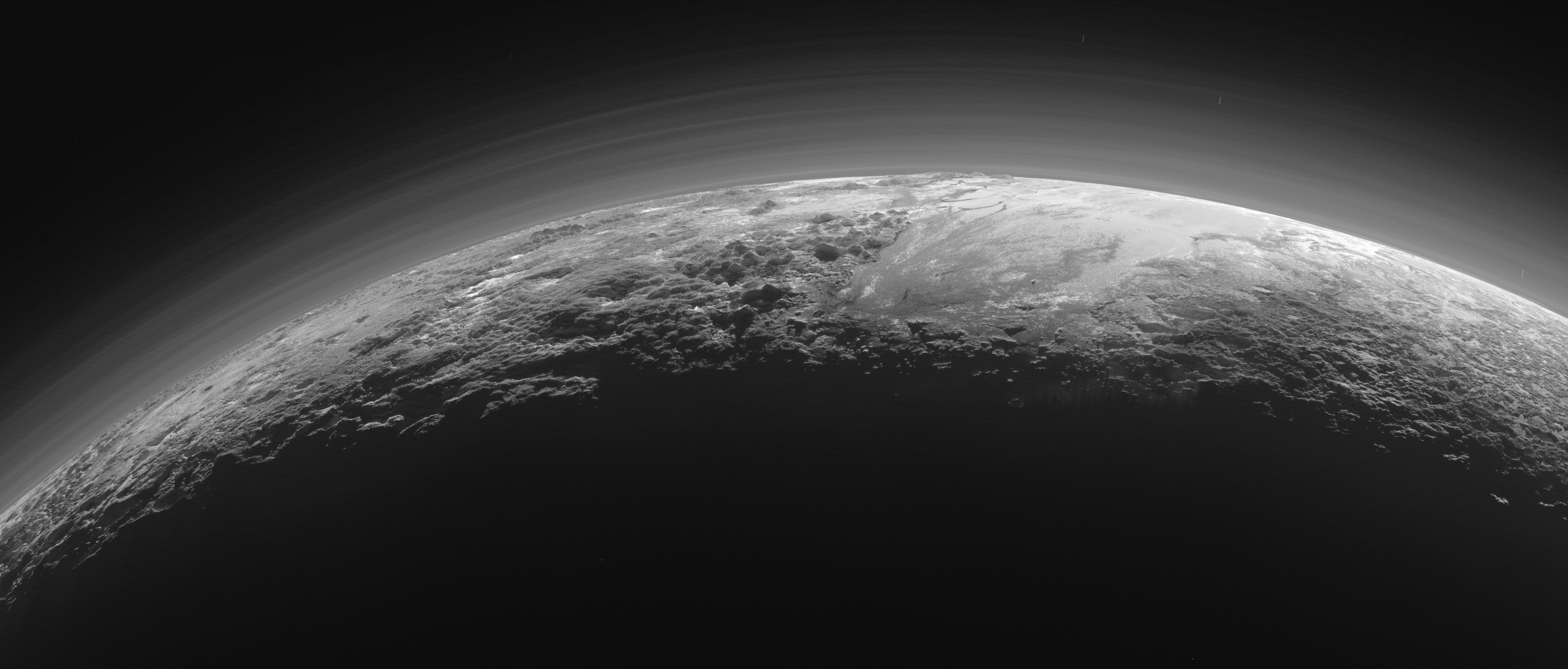 Photos: Never Before Seen Closeup of Pluto's Surface Captured by Spacecraft