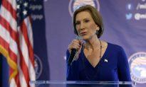 Fiorina Promises a Fight for Republican Nomination