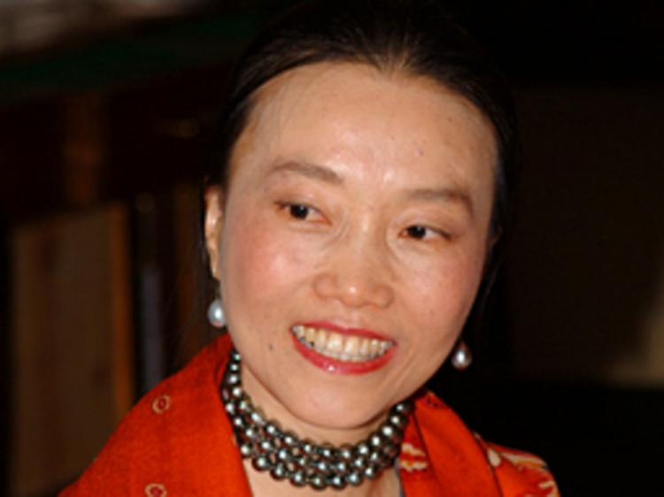 Poet Xu Pei. She lives in Germany and writes of her world view, of China, and humanity. (Courtesy of Ms. Xu Pei)