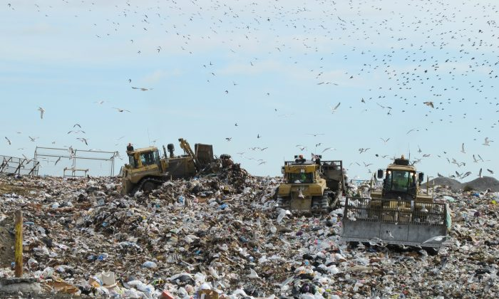 A landfill in Virginia on Nov. 21, 2013. (Bill McChesney/Flickr/CC BY)