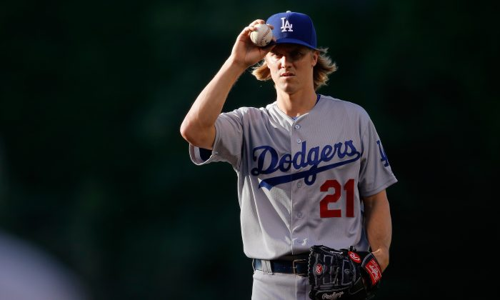 Zack Greinke's ERA has not been above 2.00 after any start this season. (Doug Pensinger/Getty Images)