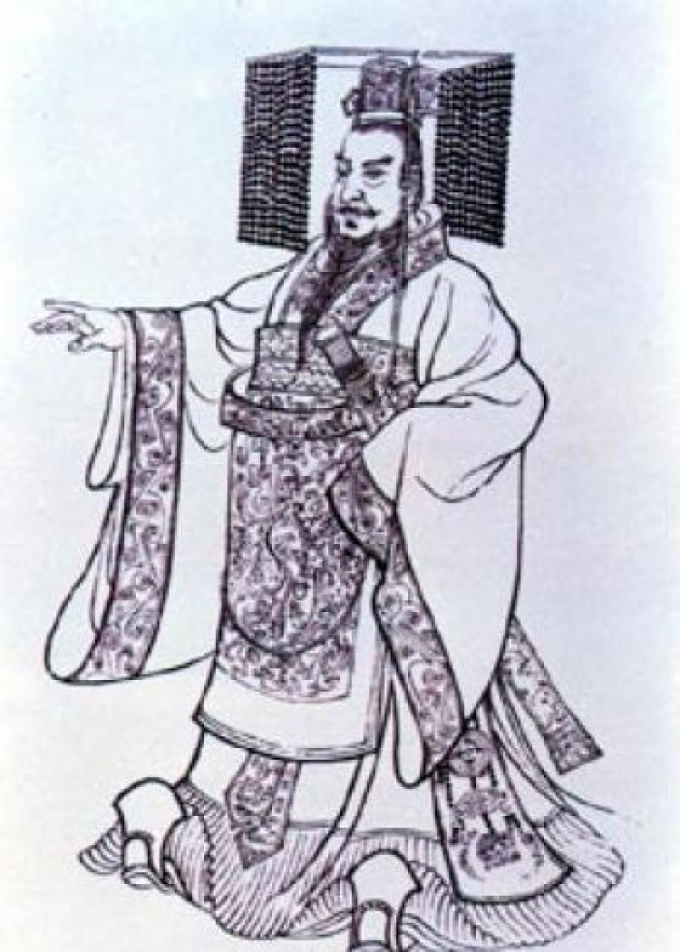 Qin Shi Huang, first emperor of China. (Wikimedia Commons)