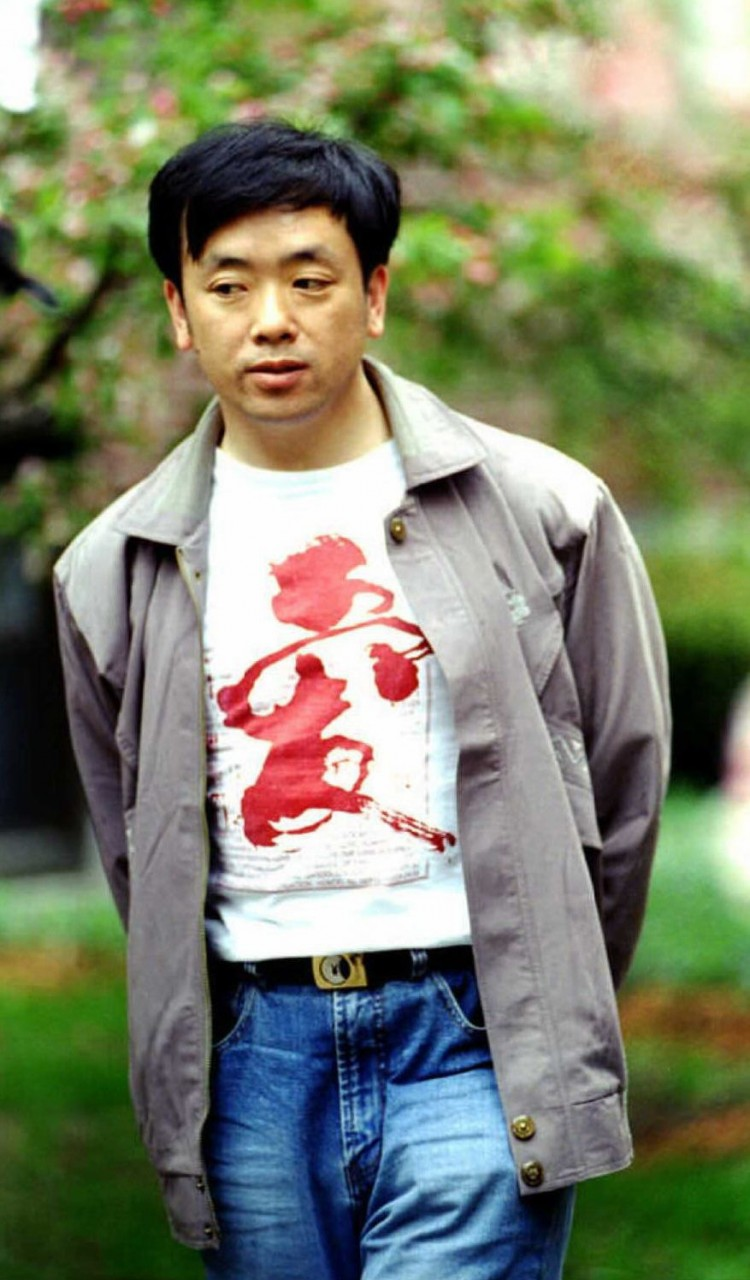 Chinese dissident Liu Gang is pictured on May 3, 1999 in Cambridge, Mass., after he received permission to stay in the United States. Liu had served a six-year prison term in China for his involvement in the Tiananmen Square democracy movement. (John Mottern/AFP/Getty Images)