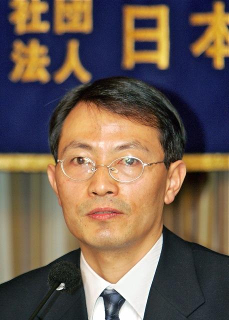 Jiao Guobiao, a former journalism professor