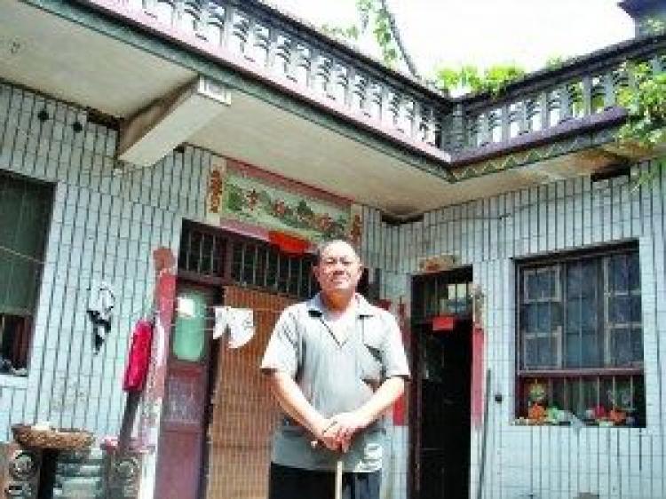 Zheng Keyuan from Penyao Village is on bail pending appeal. (Epoch Times)