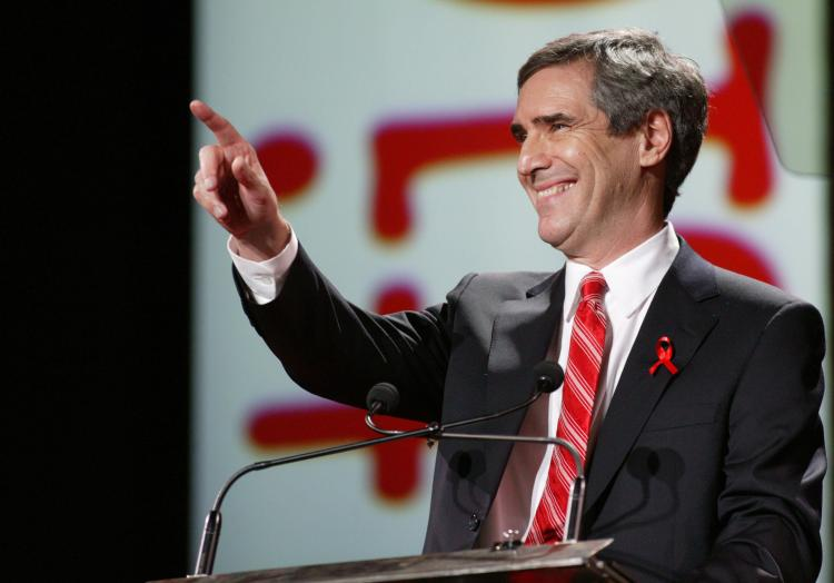 Liberal leader Michael Ignatieff, one of several officials who spoke out against Israeli Apartheid Week, said the event makes Jewish and Israeli students feel ostracized and physically threatened. (David Boily/AFP/Getty Images)