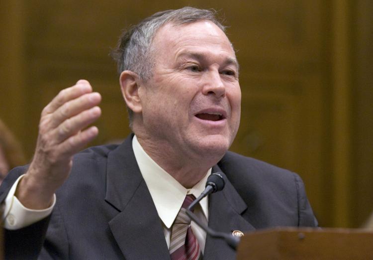US Representative Dana Rohrabacher, Republican from California. (Saul Loeb/AFP/Getty Images)