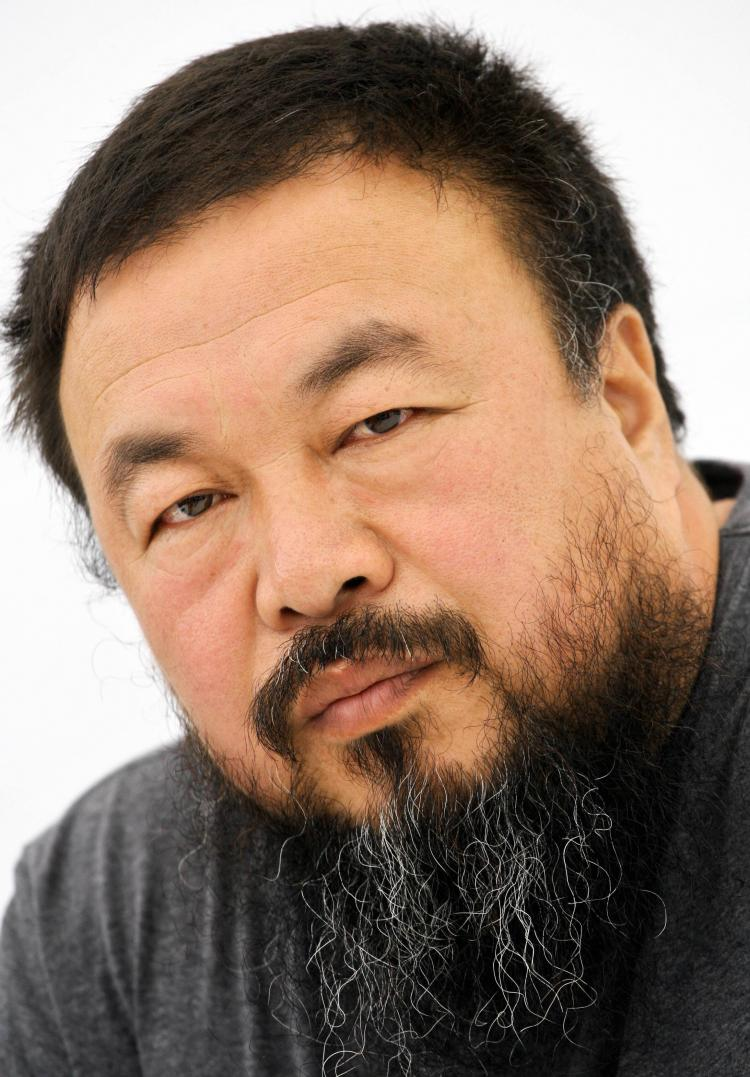Chinese artist and design consultant Ai Weiwei to the 'Bird's Nest' blasted Beijing's opening ceremonies in his blog. (Thomas Lohnes/Getty Images)