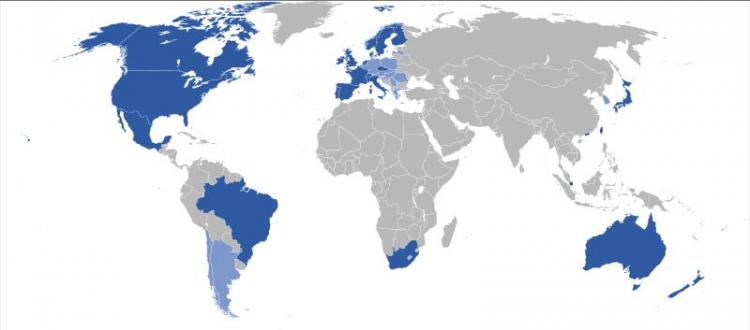 China S Map World Without Google