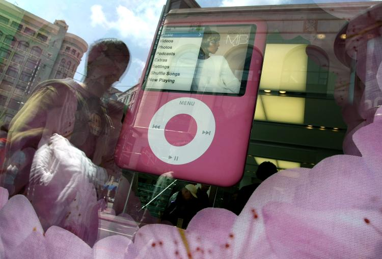 iTunes download site has been blocked in China. (Justin Sullivan/Getty Images)