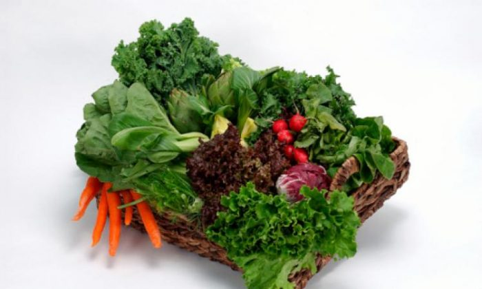 Green leafy vegetables commonly include spinach, collard greens, mustard greens, turnip greens, bok choy, and kale. (Photos.com)