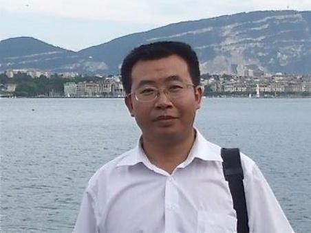 Beijing human rights lawyer Jiang Tianyong.