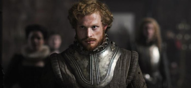 Sam Reid, in the political thriller advancing the theory that Shakespeare's plays were written by the Earl of Oxford, Edward De Vere. 'Anonymous' is set against the backdrop of the Essex Rebellion against Queen Elizabeth I and her succession. (Reiner Bajo/Columbia TriStar Marketing Group, Inc.)