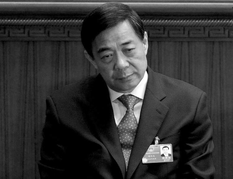 Bo Xilai, March 14, 2012