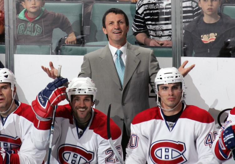 FIRED COACH: The Montreal Canadiens fired head coach Guy Carbonneau Monday afternoon. (Bruce Bennett/Getty Images)